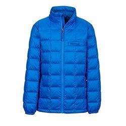 Marmot 土拨鼠 AJAX 童款羽绒服 蓝色