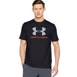UNDER ARMOUR 安德玛 CC Sportstyle Logo 男款运动T恤