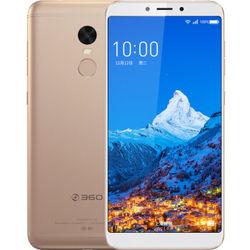 360手机 N6 全网通 智能手机 6GB+64GB 璀璨金 套装版
