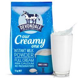 Devondale 德运 全脂高钙成人奶粉 1kg*2袋 *2件