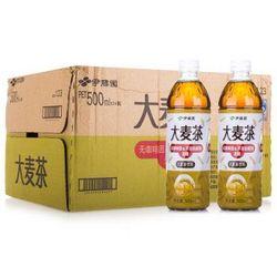 ITOEN 伊藤园 大麦茶(无糖)500ml*24瓶  *2件