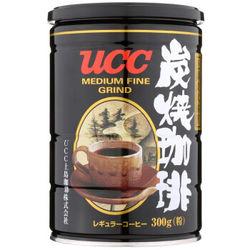 UCC 悠诗诗 炭烧速溶咖啡粉 300g  *2件