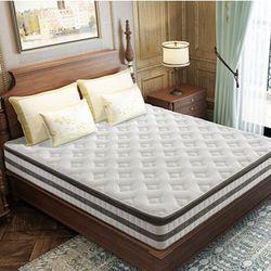 喜临门床垫23cm 泰国天然乳胶 独立袋装弹簧 软硬两用椰棕床垫 简约现代卧室家具 光年 *2件