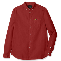 Lyle & Scott 苏格兰金鹰 Garment Dye LW700V 男士牛津纺衬衫