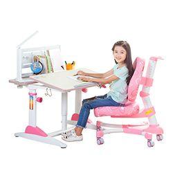 心家宜 M100_M200 气压辅助手动升降 儿童学习桌椅套装