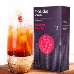 T-Sticks 绨斯珂 早餐茶 茶棒 15支装 *10件