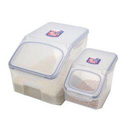 LOCK&LOCK 乐扣乐扣 HPL510S001 米桶 塑料保鲜盒套装12L+5L 2件套 +凑单品