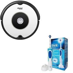 iRobot  Roomba 602 扫地机器人+欧乐-B D12电动牙刷