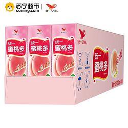 统一  蜜桃多 250ml*24盒
