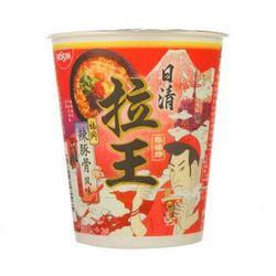 NISSIN 拉王 福冈辣豚骨风味 方便面 79g/杯 *16件