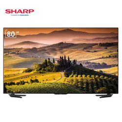 SHARP 夏普 LCD-80X7000A 80英寸 全高清液晶电视