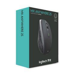 Logitech 罗技 MX Anywhere 2S 无线鼠标 黑色