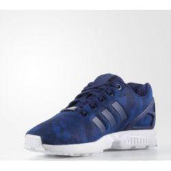 adidas 三叶草 ZX FLUX J  BB2416 儿童运动鞋