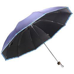天堂伞 31849ELCJ 黑胶 商务三折晴雨伞