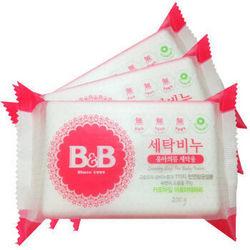 B&B 保宁  婴儿洗衣皂 洋甘菊香型   200g*3 *10件