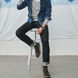 Levi\'s 李维斯 MIJ日本制系列 511 男士修身低腰牛仔裤