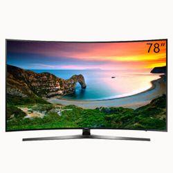 SAMSUNG 三星 UA78KU6900JXXZ 78英寸 曲面 4K液晶电视