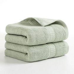 ZHONGGUOJIE 中国结 竹纤维毛巾 155g 34*76cm 2条装 *2件