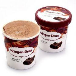 Häagen·Dazs 哈根达斯 比利时巧克力冰淇淋 460ml *3件