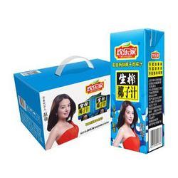 欢乐家 生榨椰子汁 纸盒装 250g*12 礼盒装 *5件