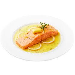 美威 冷冻智利纯中段三文鱼排(大西洋鲑)200g+奶油柠檬酱料包 50g *4件