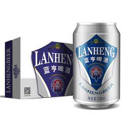 LANHENG 蓝亨 经典啤酒 10度 330ml*24听
