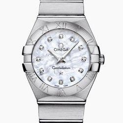 OMEGA 欧米茄 Constellation 星座系列 123.10.27.60.55.001 女士时装腕表