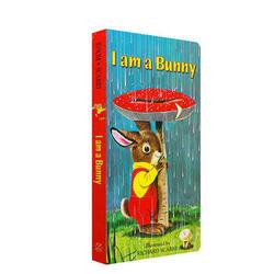 《I Am a Bunny》我是一只小兔子 英文原版绘本(纸板书)