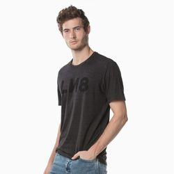Levi\'s李维斯 LINE 8系列 29554-0016 男女同款圆领字母印花短袖T恤
