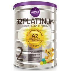 a2 艾尔 Platinum 白金版 婴幼儿奶粉  2段 900g *3件