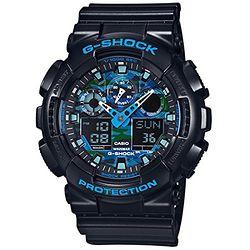 CASIO 卡西欧 G-Shock GA-100CB-1A 男士多功能双显运动手表