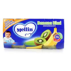 Mellin 美林 香蕉猕猴桃泥 100g 2罐装 *9件