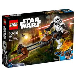 LEGO 乐高 Star Wars 星球大战系列 75532 侦查骑兵和极速机车 +凑单品