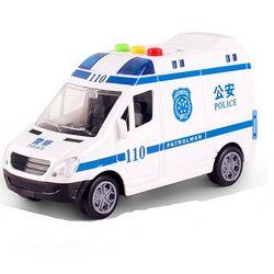 zhienb 智恩堡 儿童玩具音乐惯性车 公安车