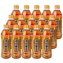 黑松 油切麦茶 植物饮料 500ml*15瓶 整箱