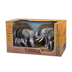 Terra 动物模型 非洲象家族