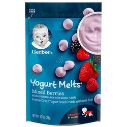 Gerber 嘉宝 混合莓果酸奶溶豆宝宝零食 三段 28g *8件
