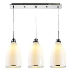 nvc-lighting 雷士照明 EUD9002  素雅三头餐吊灯