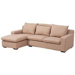 ZUOYOU 左右 DZY2506 L型转角布艺沙发 3+躺位