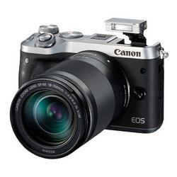 Canon 佳能 EOS M6(EF-M 18-150mm f/3.5-6.3)无反相机套机+单肩包