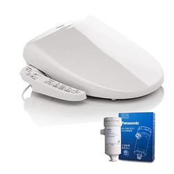 Panasonic 松下 洁乐 DL-1110RCWS 家用智能马桶盖板便座+AD-JS30 净水过滤器组合套装