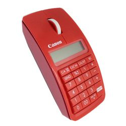 Canon 佳能 XMarkIM 数字键盘计算器三合一无线蓝牙鼠标 红色