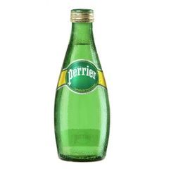 perrier 巴黎水 原味 含气天然矿泉水 330ml*24