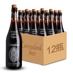 corsendonk 科胜道 精酿棕啤酒 750ml*12瓶 *2件