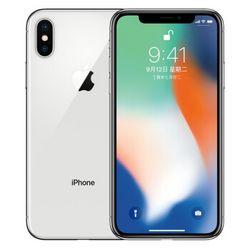 Apple 苹果 iPhone X 智能手机 银色 64GB 全网通版