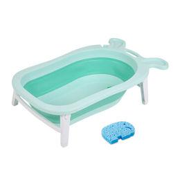 ALICE & BABY 爱丽思贝 婴儿折叠浴盆宝宝洗澡盆