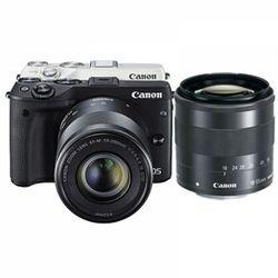 Canon 佳能 EOS M3 微型单电双镜头套机(18-55mm f/3.5-5.6 IS STM、55-200mm f/4.5-6.3 IS STM)