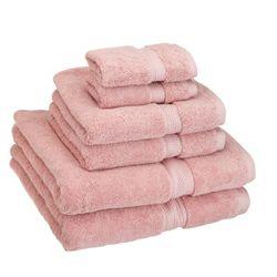 Superior 埃及棉浴巾套装 6件套 900g *2件