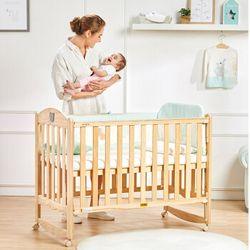 gb 好孩子 MC115 实木多功能婴儿床