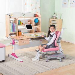 心家宜 M173-M216+M672 可升降儿童学习桌椅组合套装